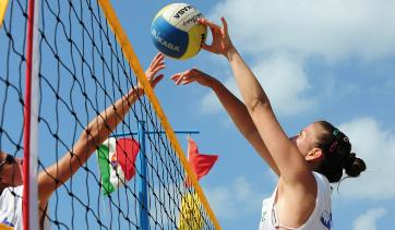 Beach Volley Marathon im Mai