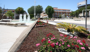 Bibione piazza fontana